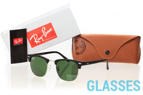 Ray Ban Clubmaster 3016D-black-gl
