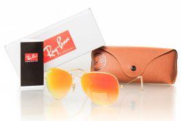 Солнцезащитные очки, Ray Ban Original 3027orange-g