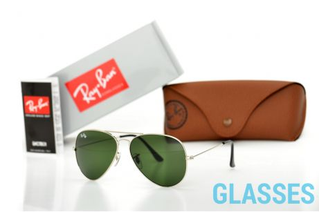 Ray Ban Original 3026D-green-s